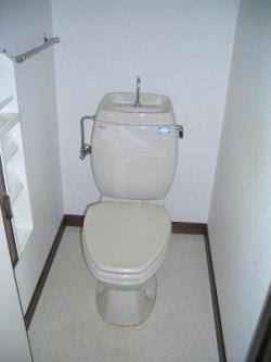 トイレクリーニング後