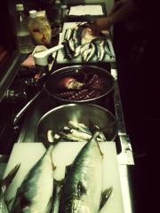 新鮮な魚料理を提供できる自信があります