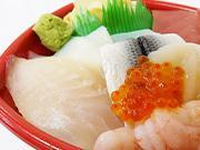 豊富な海鮮丼メニュー