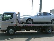 車両積載車で引き取りに伺います。