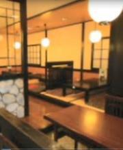 テーブル・カウンターはもちろん広いお座敷もありますよ!