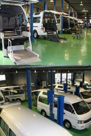 福祉車両の販売、レンタル、修理、整備、改造など介護の車はおまかせください!