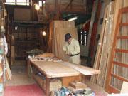 熟練の建具職人のなせる業